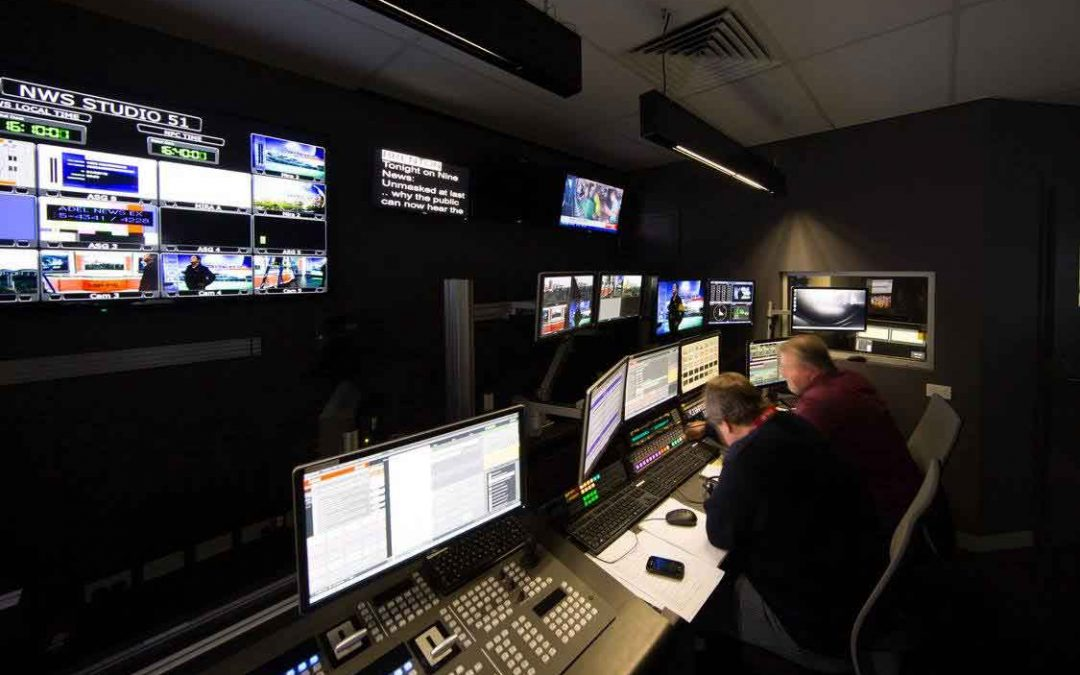 Channel 9 Adelaide Studio Fitout 2016